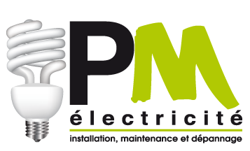 PM Electricité Mobile Logo